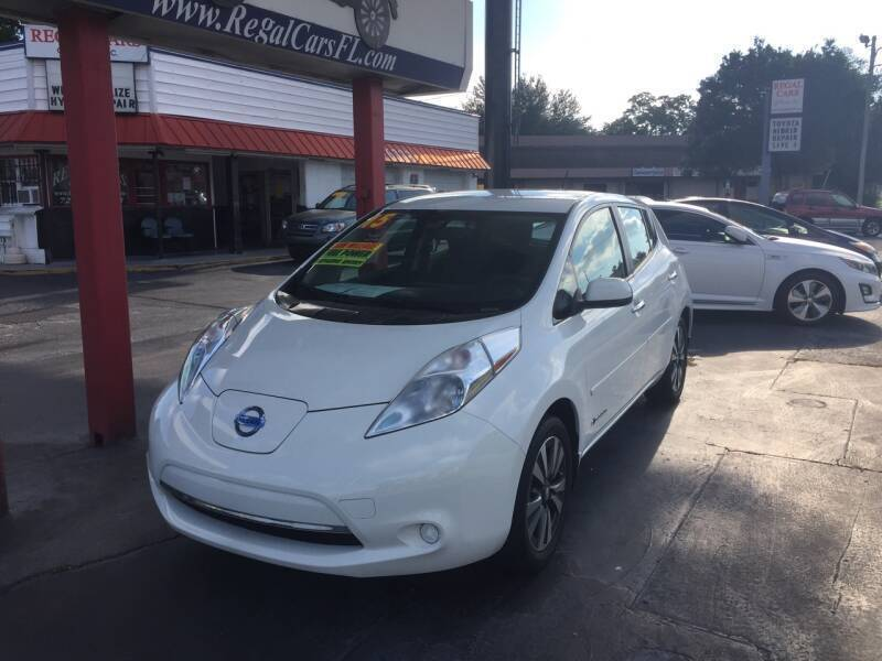 2015 Nissan LEAF for sale at Regal Cars of Florida-Clearwater Hybrids in Clearwater FL