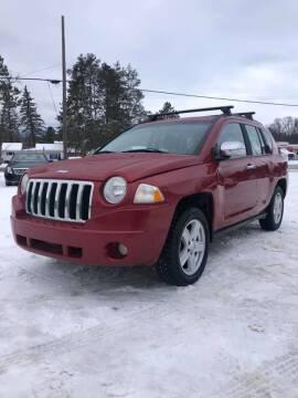 2010 Jeep Compass for sale at Hilltop Auto in Prescott MI