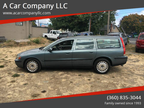 2001 Volvo V70 for sale at A Car Company LLC in Washougal WA