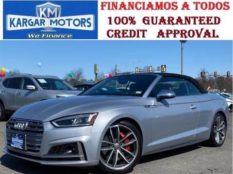 2018 Audi S5 for sale at Kargar Motors of Manassas in Manassas VA