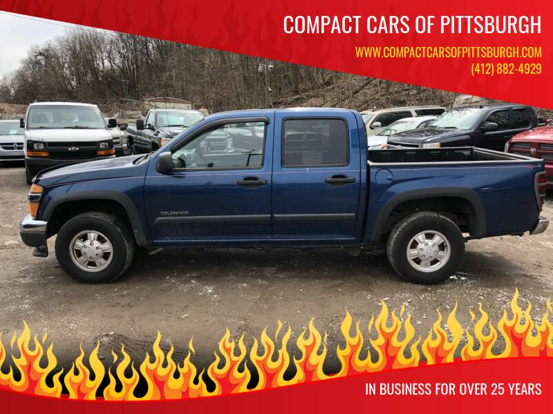 2005 Chevrolet Colorado for sale at Compact Cars of Pittsburgh in Pittsburgh PA