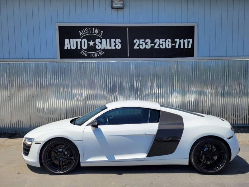 2011 Audi R8 for sale at Austin's Auto Sales in Edgewood WA