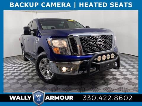 2017 Nissan Titan for sale at Wally Armour Chrysler Dodge Jeep Ram in Alliance OH