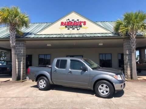 2009 Nissan Frontier for sale at Rabeaux's Auto Sales in Lafayette LA