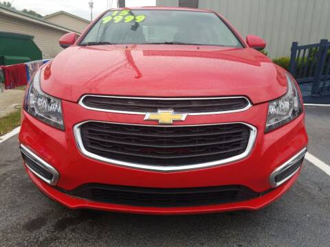 2015 Chevrolet Cruze for sale at AUTOPLEX 528 LLC in Huntsville AL