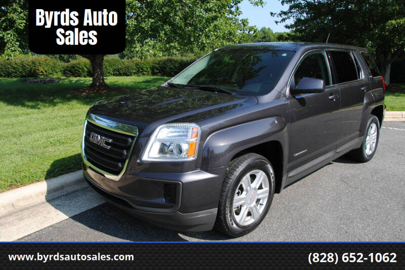 2016 GMC Terrain for sale at Byrds Auto Sales in Marion NC
