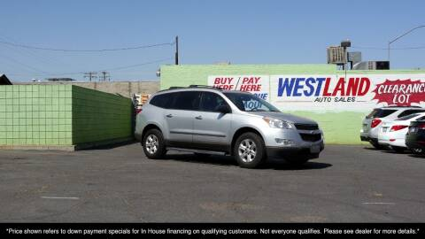 2012 Chevrolet Traverse for sale at Westland Auto Sales on 7th in Fresno CA