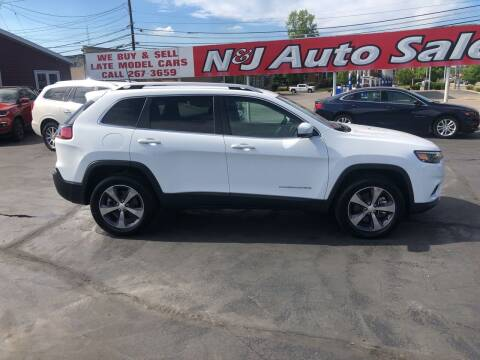 2020 Jeep Cherokee for sale at N & J Auto Sales in Warsaw IN