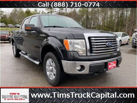 2012 Ford F-150 for sale at TTC AUTO OUTLET/TIM'S TRUCK CAPITAL & AUTO SALES INC ANNEX in Epsom NH
