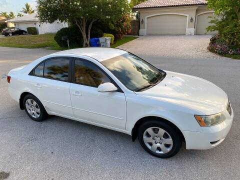 2007 Hyundai Sonata for sale at Exceed Auto Brokers in Lighthouse Point FL