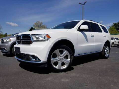 2015 Dodge Durango for sale at Ridgeway's Auto Sales in West Frankfort IL