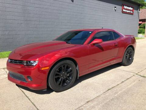 2015 Chevrolet Camaro for sale at Adrenaline Motorsports Inc. in Saginaw MI