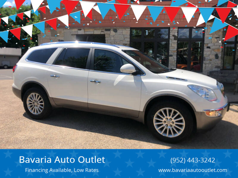 2011 Buick Enclave for sale at Bavaria Auto Outlet in Victoria MN