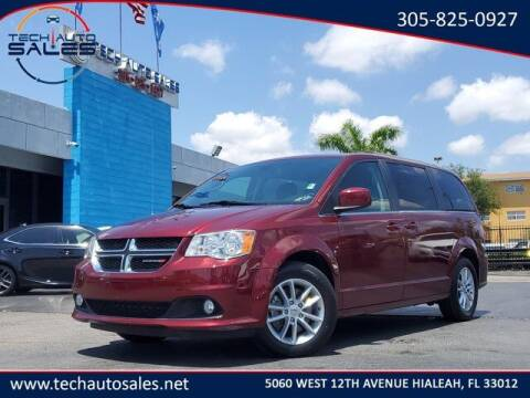 2019 Dodge Grand Caravan for sale at Tech Auto Sales in Hialeah FL