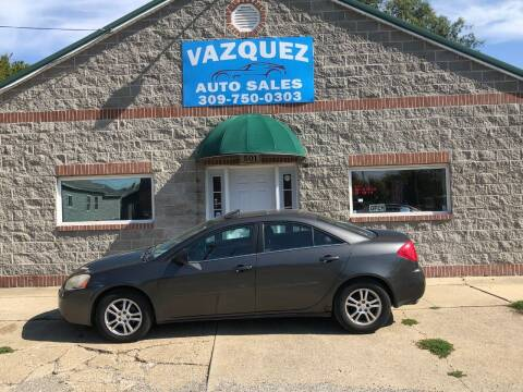 2005 Pontiac G6 for sale at VAZQUEZ AUTO SALES in Bloomington IL