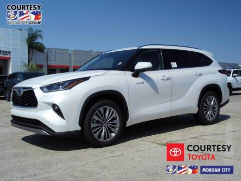 2020 Toyota Highlander Hybrid for sale at Courtesy Toyota & Ford in Morgan City LA