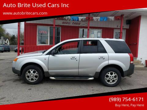 2004 Saturn Vue for sale at Auto Brite Used Cars Inc in Saginaw MI