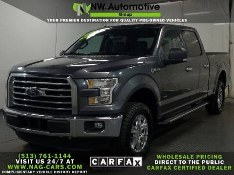 2016 Ford F-150 for sale at NW Automotive Group in Cincinnati OH