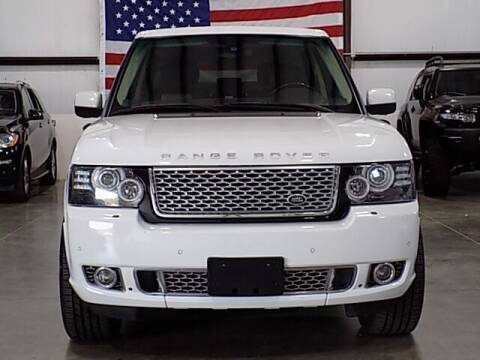 2012 Land Rover Range Rover for sale at Texas Motor Sport in Houston TX