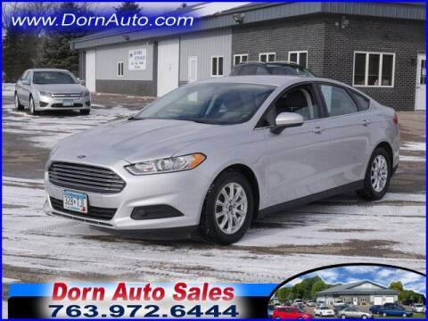 2016 Ford Fusion for sale at Jim Dorn Auto Sales in Delano MN