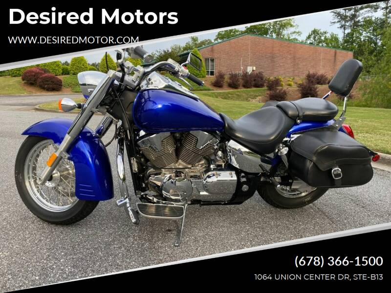 2006 Honda VTX for sale at Desired Motors in Alpharetta GA