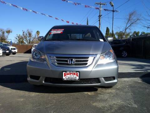 2010 Honda Odyssey for sale at Empire Auto Sales in Modesto CA