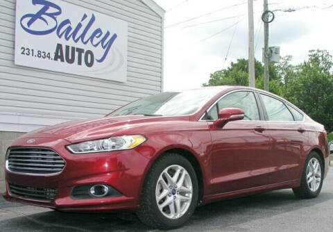 2014 Ford Fusion for sale at Bailey Auto LLC in Bailey MI