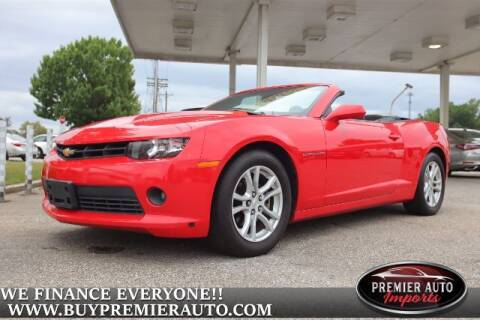 2015 Chevrolet Camaro for sale at PREMIER AUTO IMPORTS - Temple Hills Location in Temple Hills MD