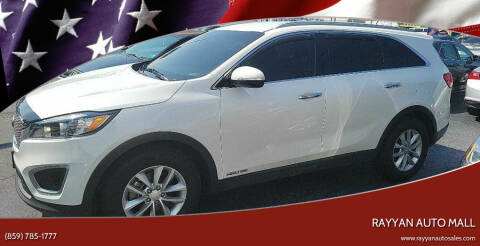2016 Kia Sorento for sale at Rayyan Auto Mall in Lexington KY
