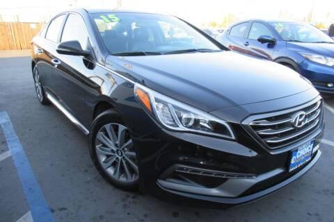 2015 Hyundai Sonata for sale at Choice Auto & Truck in Sacramento CA