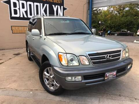 2005 Lexus LX 470 for sale at Excellence Auto Trade 1 Corp in Brooklyn NY