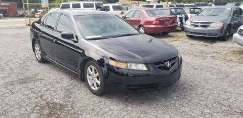 2004 Acura TL for sale at DREWS AUTO SALES INTERNATIONAL BROKERAGE in Atlanta GA