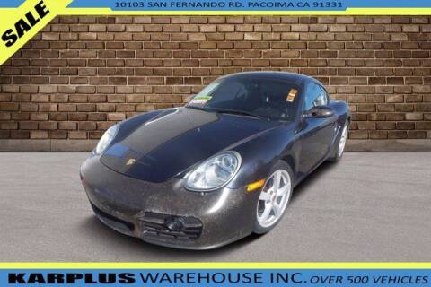2007 Porsche Cayman for sale at Karplus Warehouse in Pacoima CA