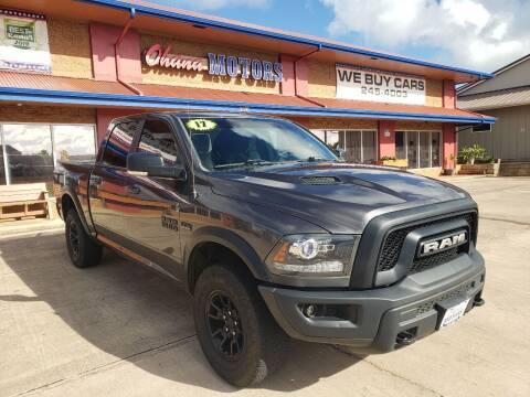 2017 RAM Ram Pickup 1500 for sale at Ohana Motors in Lihue HI