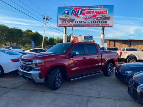 2019 Chevrolet Silverado 1500 for sale at ANF AUTO FINANCE in Houston TX