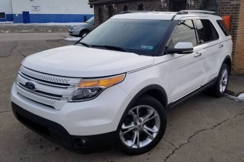 2011 Ford Explorer for sale at SUPERIOR MOTORSPORT INC. in New Castle PA