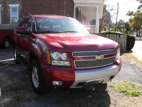 2012 Chevrolet Tahoe for sale at Lebo's Auto Sales LLC in Carlisle PA