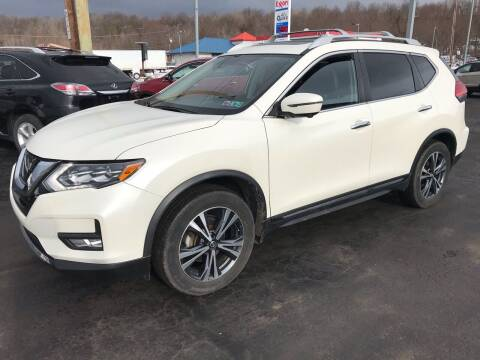 2017 Nissan Rogue for sale at Rinaldi Auto Sales Inc in Taylor PA