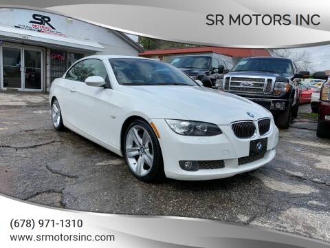 2008 BMW 3 Series for sale at SR Motors Inc in Gainesville GA