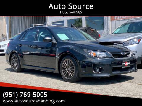 2011 Subaru Impreza for sale at Auto Source in Banning CA