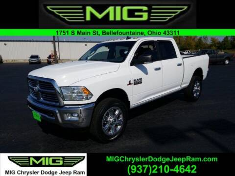 2014 RAM Ram Pickup 2500 for sale at MIG Chrysler Dodge Jeep Ram in Bellefontaine OH