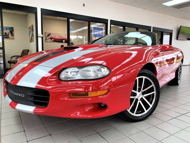 2002 Chevrolet Camaro for sale at SAINT CHARLES MOTORCARS in Saint Charles IL