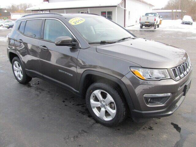 2018 Jeep Compass for sale at Thompson Motors LLC in Attica NY