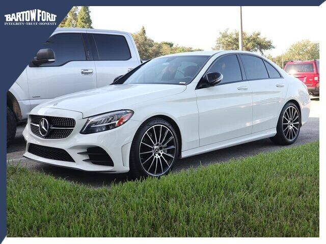 2019 Mercedes-Benz C-Class for sale at BARTOW FORD CO. in Bartow FL