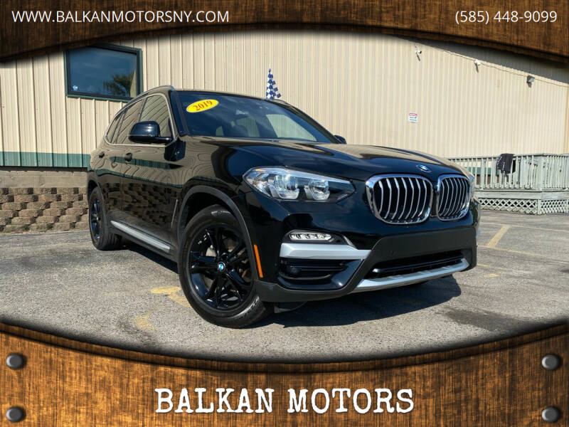 2019 BMW X3 for sale at BALKAN MOTORS in East Rochester NY
