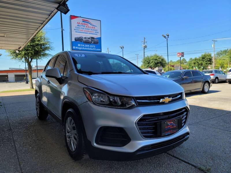 2017 Chevrolet Trax for sale at Magic Auto Sales in Dallas TX
