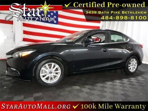 2017 Mazda MAZDA3 for sale at STAR AUTO MALL 512 in Bethlehem PA