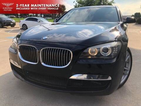 2010 BMW 7 Series for sale at European Motors Inc in Plano TX