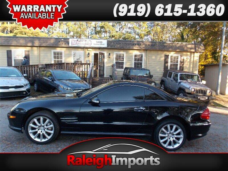 2003 Mercedes-Benz SL-Class for sale at Raleigh Imports in Raleigh NC