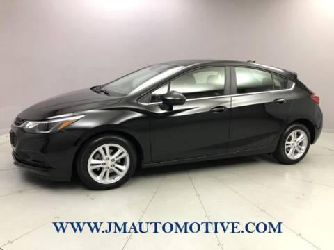 2018 Chevrolet Cruze for sale at J & M Automotive in Naugatuck CT